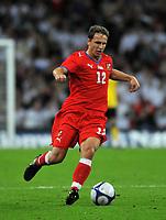 Photo: Tony Oudot/Richard Lane Photography.  England v Czech Republic. International match. 20/08/2008. <br /> Zdenek Pospech of Czech Republic .