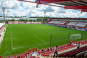 New Douglas Park before the Ladbrokes Scottish Premiership League match between Hamilton Academical FC and Heart of Midlothian FC at New Douglas Park, Hamilton, Scotland on 4 August 2018. Picture by Malcolm Mackenzie.