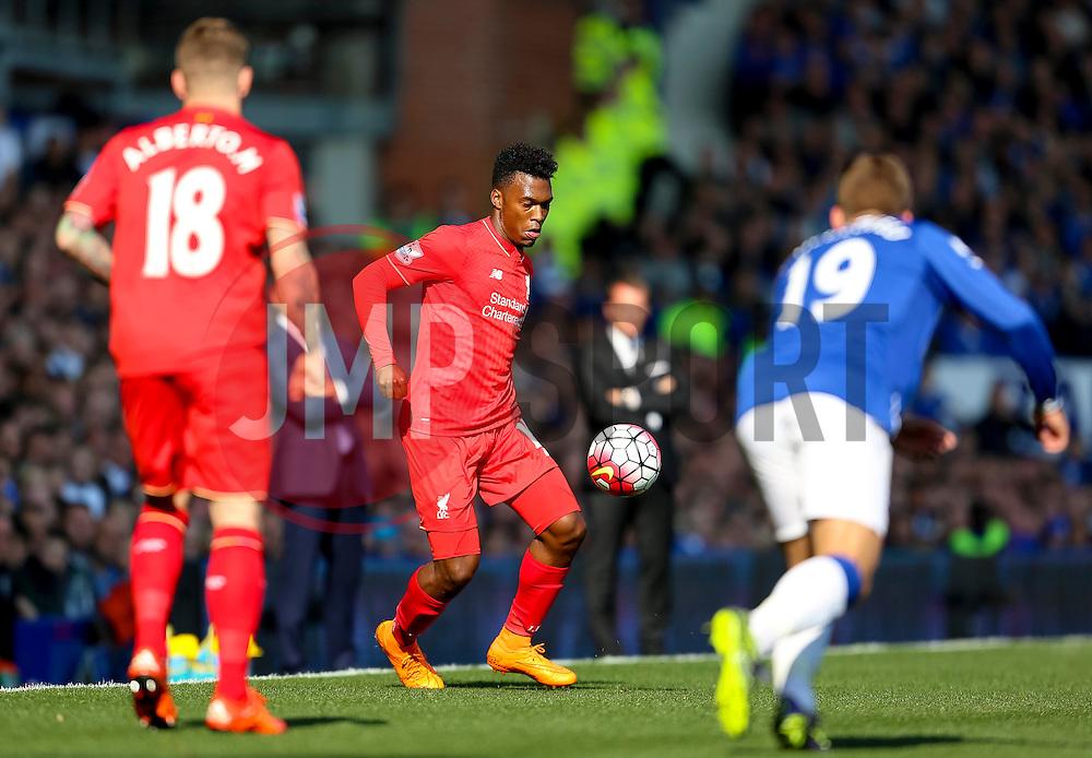 Daniel Sturridge of Liverpool  - Mandatory byline: Matt McNulty/JMP - 07966 386802 - 04/10/2015 - FOOTBALL - Goodison Park - Liverpool, England - Everton  v Liverpool - Barclays Premier League
