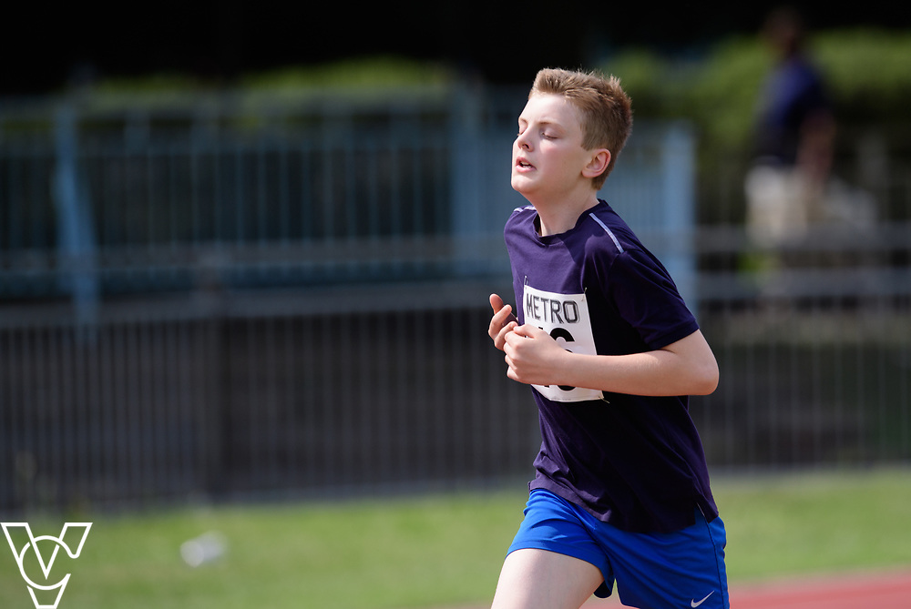 Metro Blind Sport's 2017 Athletics Open held at Mile End Stadium.  800m  Tom Lancaster<br /> <br /> Picture: Chris Vaughan Photography for Metro Blind Sport<br /> Date: June 17, 2017