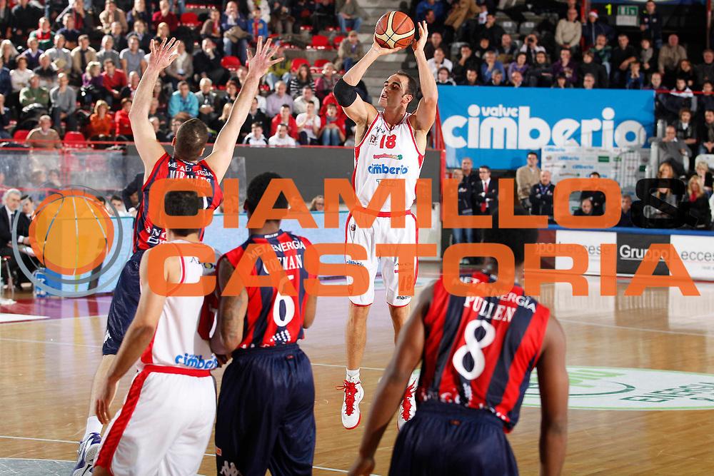 DESCRIZIONE : Varese Campionato Lega A 2011-12 Cimberio Varese Angelico Biella<br /> GIOCATORE : Diego Fajardo<br /> CATEGORIA : Tiro Three Points<br /> SQUADRA : Cimberio Varese<br /> EVENTO : Campionato Lega A 2011-2012<br /> GARA : Cimberio Varese Angelico Biella<br /> DATA : 18/12/2011<br /> SPORT : Pallacanestro<br /> AUTORE : Agenzia Ciamillo-Castoria/G.Cottini<br /> Galleria : Lega Basket A 2011-2012<br /> Fotonotizia : Varese Campionato Lega A 2011-12 Cimberio Varese Angelico Biella<br /> Predefinita :