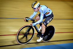 March 2, 2018 - Apeldoorn, NETHERLANDS - Belgian Lotte Kopecky pictured in action during the Tempo race part of the omnium women event at the 2018 world championships track cycling in Apeldoorn, the Netherlands, Friday 02 March 2018. The track cycling worlds take place from 28 February to 04 March. BELGA PHOTO YORICK JANSENS (Credit Image: © Yorick Jansens/Belga via ZUMA Press)