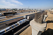 The construction site Interstate 5 L.A. County.