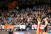 Fans during the ANZ Premiership netball match - Magic v Tactix played at Claudelands Arena, Hamilton, New Zealand on 30 July 2018.<br /> <br /> Copyright photo: © Bruce Lim / www.photosport.nz