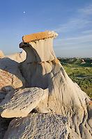 Badlands sandstone formations Theodore Rossevelt National Park, North Dakota