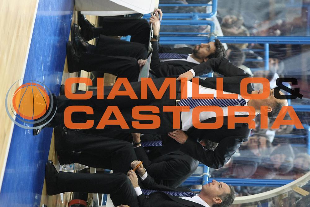 DESCRIZIONE: Cremona Lega A 2009-10 Vanoli Cremona Angelico Biella<br />GIOCATORE: Attilio Caja Coach<br />SQUADRA: Vanoli Cremona<br />EVENTO: Campionato Lega A 2009-10<br />GARA:  Vanoli Cremona Angelico Biella<br />DATA:  28/02/2010<br />CATEGORIA: Coach<br />SPORT: Pallacanestro<br />AUTORE: Agenzia Ciamillo-Castoria/F.Zovadelli<br />GALLERIA: Lega Basket A 2009-2010<br />FOTONOTIZIA: Cremona Campionato Italiano Lega A 2009-2010 Vanoli Cremona Angelico Biella