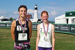 Beach to Beacon 10K road race<br /> High School Mile
