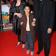 NLD/Utrecht/20070928 - Premiere film Goud over Nederlands dames hockeyelftal, Humberto Tan met partner Ineke Geenen en dochter