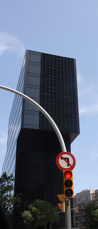 Skyscraper. Barcelona. Spain 2013