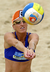 20-08-2000 NED: NK BEACH 2000 SCHEVENINGEN<br /> Deborah Kadijk