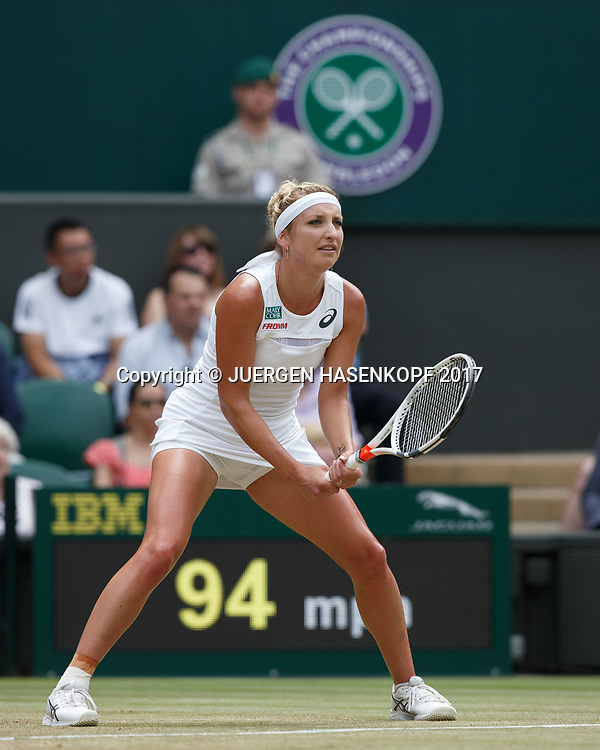 TIMEA BACSINSZKY (SUI)<br /> <br /> Tennis - Wimbledon 2017 - Grand Slam ITF / ATP / WTA -  AELTC - London -  - Great Britain  - 8 July 2017.