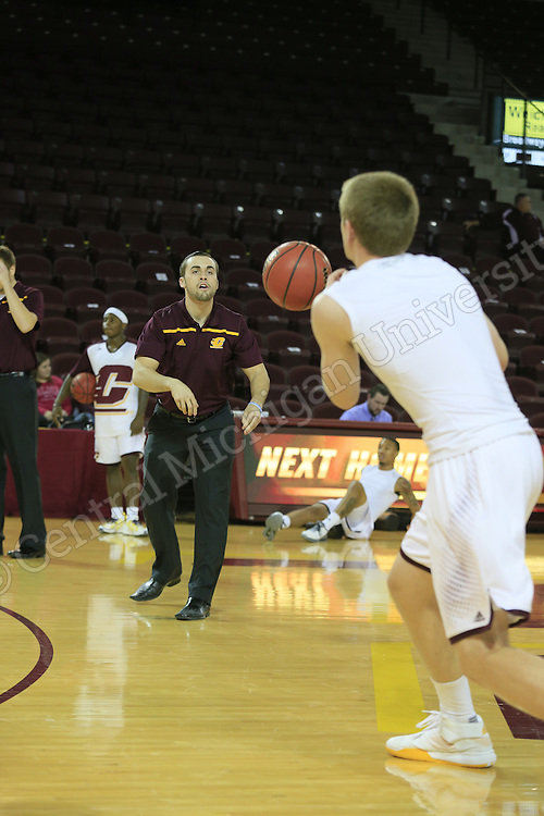 Mens Basketball vs. Alma on November 17, 2015. sj  Photo by Steve Jessmore/Central Michigan University