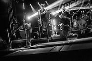 Linea 77 in concerto. Nerviano (Mi), Big Bang Music Fest. 30 giugno 2015.