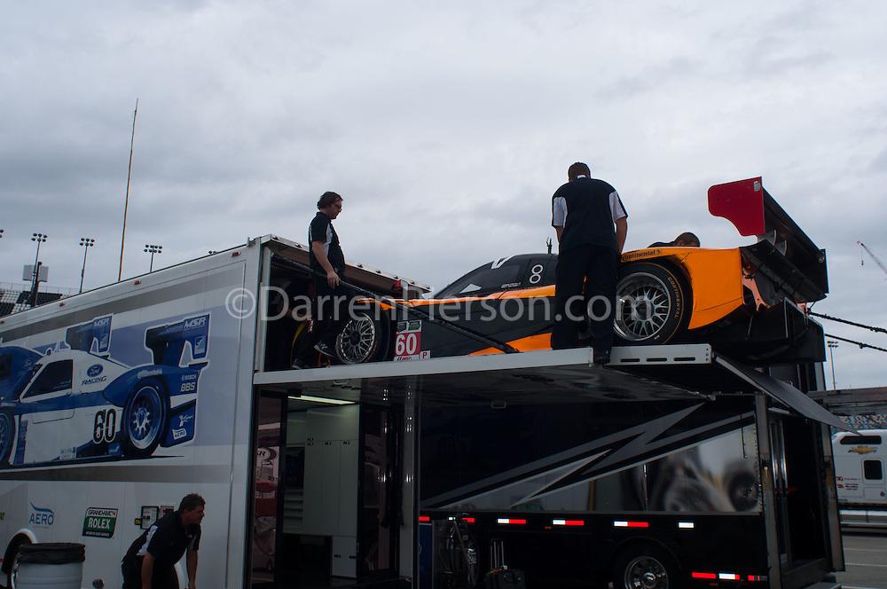 #60 Michael Shank Racing Riley: John Pew, Oswaldo Negri Jr