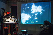 CLEA MINAKER<br /> ROOM OF COLOUR, ROOM OF SOUND, Casa del Popolo, Dimanche 19 octobre 2014.