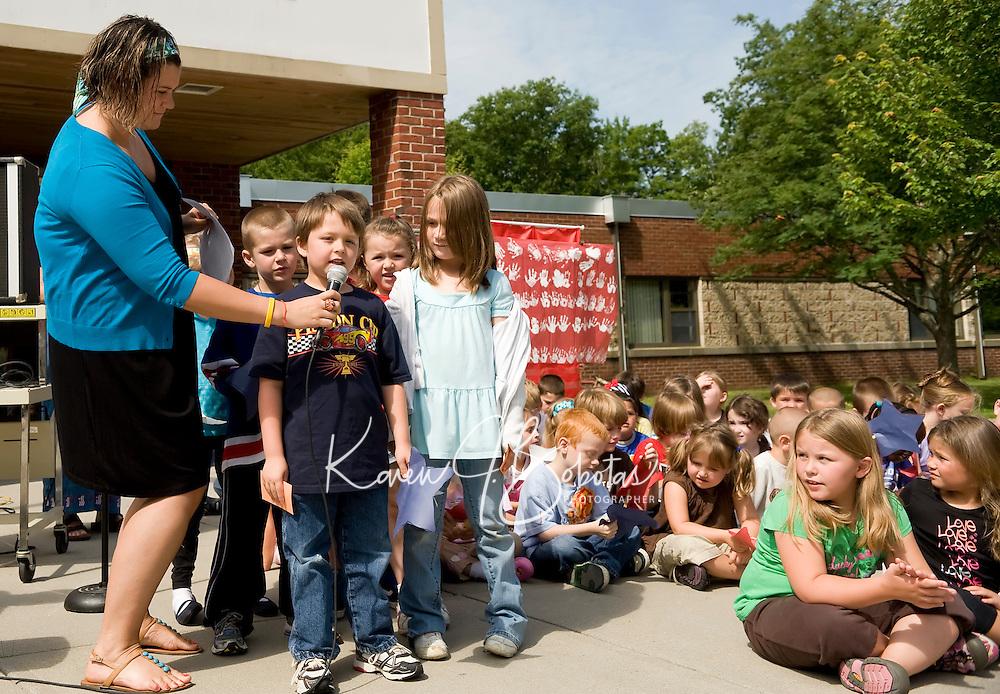 Elm Street School Flag Day Celebration June 14, 2010.