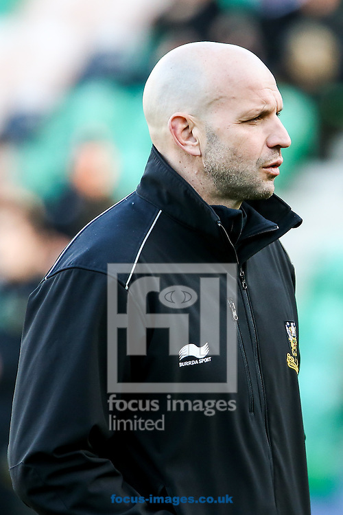 Northampton Saints director of rugby Jim Mallinder before the European Rugby Champions Cup match at Franklin's Gardens, Northampton<br /> Picture by Andy Kearns/Focus Images Ltd 0781 864 4264<br /> 24/01/2015