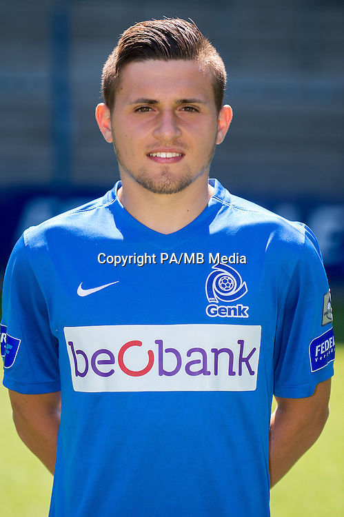 Genk's Paolino Bertaccini pictured during the 2015-2016 season photo shoot of Belgian first league soccer team KRC Genk, Friday 10 July 2015 in Genk