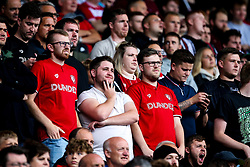 Bristol City fans at Birmingham City - Mandatory by-line: Robbie Stephenson/JMP - 10/08/2019 - FOOTBALL - St Andrew's Stadium - Birmingham, England - Birmingham City v Bristol City - Sky Bet Championship