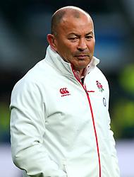 England head coach Eddie Jones - Mandatory by-line: Robbie Stephenson/JMP - 18/11/2017 - RUGBY - Twickenham Stadium - London, England - England v Australia - Old Mutual Wealth Series