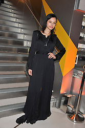 LEAH WELLER at the unveiling of the Helena Christensen and Swarovski Crystallized Unsigned Model search winners held at Swarovski Crystallized, 24 Great Marlborough Street, London on 26th January 2012.