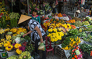 Wholesale flower market, Hue