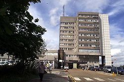Southend General Hospital where the nurse worked who has been suspended over  the deaths of 18 children, June 22, 2000. Photo by Andrew Parsons / i-images..