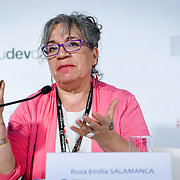 20160615 - Brussels , Belgium - 2016 June 15th - European Development Days - The people's peace - Rosa Emilia Salamanca , Director , Corporacion de Investigacion y Accion Social y Economica © European Union