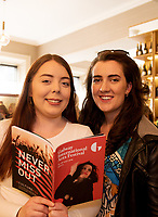 REPRO FREE: Eve Brook  and Lorna Tummon from GIAF box office in Hotel Meyrick for the announcement of the programme for the 2018 Galway International Arts Festival Programme 16-29 July which features an exciting Irish and international programme of theatre, opera, dance, circus, music, spectacle, visual art, and First Thought Talks featuring interviews and discussions on the theme of home, six world premieres, five Irish premieres and artists and theatre makers from across the world. Highlights include world premieres of Paul Muldoon's Incantata, new plays by Sonya Kelly and Cristin Kehoe (Druid) and a new theatre installation from Enda Walsh, visual arts / installations commissions from David Mach Rock 'n' Roll and Olivier Grossetête The People Build. Photo:Andrew Downes, xposure.
