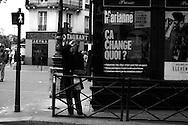 Belleville altercation, Paris