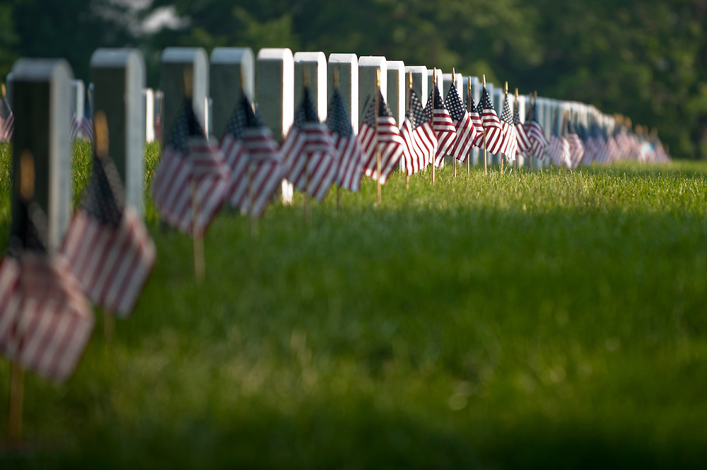 Scenes from Arlington National Cemetery on Memorial Day 2011.