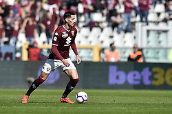 "March 3, 2019 - Torino, Italia - Foto LaPresse/Nicolò Campo .03/03/2019 Torino (Italia) .Sport Calcio .Torino vs ChievoVerona - Campionato italiano di calcio Serie A TIM 2018/2019 - ""stadio Olimpico Grande Torino"" .Nella foto: Sasa Lukic (Torino FC) ..Photo LaPresse/Nicolò Campo .March 3, 2019 Turin (Italy).Sport Soccer.Torino vs ChievoVerona  - Italian Football Championship League A TIM 2018/2019 - ""stadio Olimpico Grande Torino"" .In the pic: Sasa Lukic  (Credit Image: © Nicolò Campo/Lapresse via ZUMA Press)"