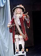 The Restoration of Nell Gwyn by Steve Trafford<br /> at Park Theatre, London, Great Britain <br /> 27th January 2016 <br /> <br /> Elizabeth Mansfield as Nell Gwyn <br /> <br /> <br /> <br /> Photograph by Elliott Franks <br /> Image licensed to Elliott Franks Photography Services