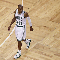 01 June 2012: Boston Celtics shooting guard Ray Allen (20) is seen during the first half of Game 3 of the Eastern Conference Finals playoff series, Heat vs Celtics, at the TD Banknorth Garden, Boston, Massachusetts, USA.