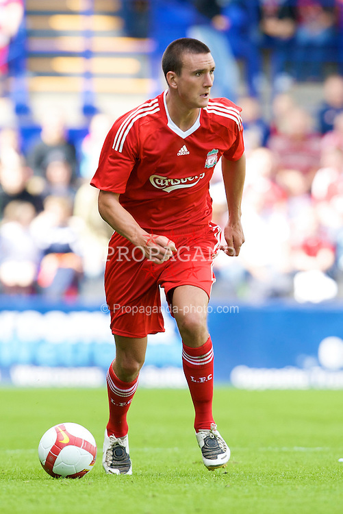 BIRKENHEAD, ENGLAND - Saturday, July 12, 2008: Liverpool's Jack Hobbs during his side's first pre-season match of the 2008/2009 season against Tranmere Rovers at Prenton Park. (Photo by David Rawcliffe/Propaganda)