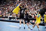 DESCRIZIONE : Handball coupe des coupes finale Tremblay Gummersbach<br /> GIOCATORE : Poulin Teddy<br /> SQUADRA : Tremblay <br /> EVENTO : Coupe d'europe 2010-2011<br /> GARA : Tremblay Gummersbach<br /> DATA : 20/05/2011<br /> CATEGORIA : Handball Coupe d'europe<br /> SPORT : Handball<br /> AUTORE : JF Molliere par Agenzia Ciamillo-Castoria <br /> Galleria : France Hand 2010-2011 Action<br /> Fotonotizia : coupe des coupe finale Tremblay Gummersbach<br />   Match retour a Gummersbach