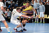 Xavier Barachet / Mahmoud Gharbi - 26.04.2015 - Handball - Nantes / Paris Saint Germain - Finale Coupe de France<br /> Photo : Andre Ferreira / Icon Sport
