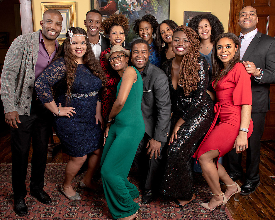Photo by Mara Lavitt<br /> February 23, 2019<br /> Lyric Hall Theater, New Haven<br /> <br /> The Yale Black Law Students Association spring formal.