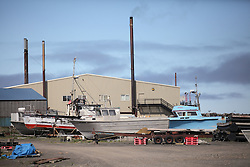 USA ALASKA ST PAUL ISLAND 8JUL12 - General view of the harbor on the island of St. Paul in the Bering Sea, Alaska.....Photo by Jiri Rezac / Greenpeace....© Jiri Rezac / Greenpeace