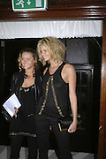 Elizabeth Macpherson and Elle Macpherson, MOVE FOR AIDS HOSTED BY ELLE MACPHERSON & DAVID FURNISH. Koko, Camden High St. London. 7/11/06. ONE TIME USE ONLY - DO NOT ARCHIVE  © Copyright Photograph by Dafydd Jones 66 Stockwell Park Rd. London SW9 0DA Tel 020 7733 0108 www.dafjones.com