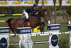 Fredricson Peder, (SWE), H&M Flip s Little Sparrow <br /> Furusiyya FEI Nations Cup of Belgium<br /> Longines Spring Classic of Flanders - Lummen 2015<br /> © Hippo Foto - Leanjo de Koster<br /> 01/05/15