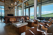 Tasting room at RdV Winery in Delaplane, VA.