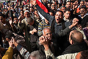 Egyptians dance in celebration in Tahrir Square February 12, 2011 in Cairo, Egypt. The day after the revolution toppled the regime of President Hosni Mubarak, Egyptians continued to celebrate and began to focus on rebuilding their country and society. (Photo by Scott Nelson)