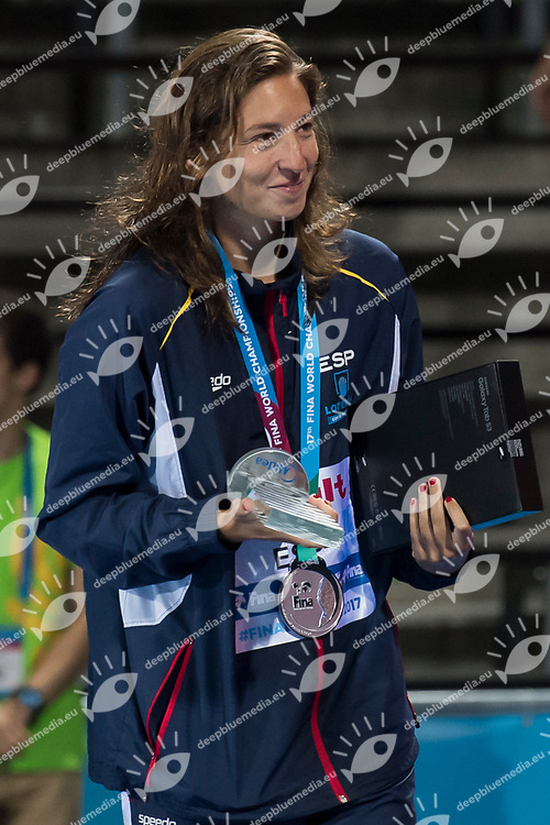 Team USA silver medal<br /> USA vs SPAIN<br /> Final<br /> Water Polo <br /> Day 15  28/07/2017 <br /> XVII FINA World Championships Aquatics<br /> Alfred Hajos Complex Margaret Island  <br /> Budapest Hungary July 15th - 30th 2017 <br /> Photo @ Giorgio Perottino/Deepbluemedia/Insidefoto