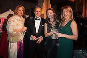 DIANA CARNEY; MARK CARNEY; ALLIE ESIRI; MELANIE SHERWOOD, The Secret Winter Gala in aid of Save the Children and sponsored by Bulgari. Guildhall. London. 26 November 2013