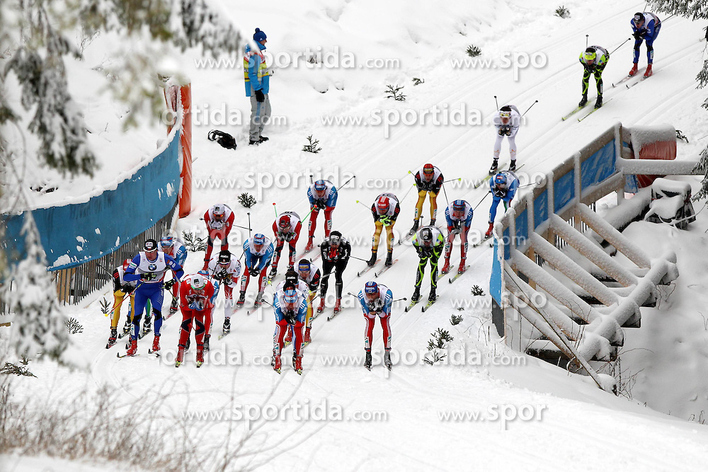 31.12.2011, DKB-Ski-ARENA, Oberhof, GER, Viessmann Tour de Ski 2011, FIS Langlauf Weltcup, Verfolgung Herren, im Bild  Feature/ Starterfeld // during men's pursuitof Viessmann Tour de Ski 2011 FIS World Cup Cross Country at DKB-SKI-Arena Oberhof, Germany on 2011/12/31. EXPA Pictures © 2011, PhotoCredit: EXPA/ nph/ Hessland..***** ATTENTION - OUT OF GER, CRO *****
