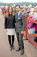 6-10-2015 &Auml;lvdalen Visit to the company I-Cell, &Auml;lvdalen.  Prince Carl Philip and H.K.H. the Princess Sofia will visit two days the county of Dalarna 5-6 October 2015<br /> COPYRIGHT ROBIN URECHT