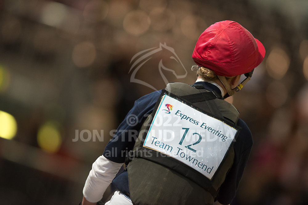 Lucy Jackson (NZL) & Animator - XC - Express Eventing - Horse World Live - ExCel London - 17 November 2012