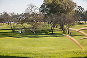 Golfing at Meadowlark Golf Club in Huntington Beach California