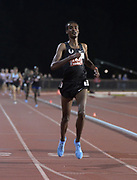 May 2, 2019; Stanford, CA, USA; Yomif Kejelcha (ETH) wins the 5,000m during the 24th Payton Jordan Invitational at Cobb Track & Angell Field.